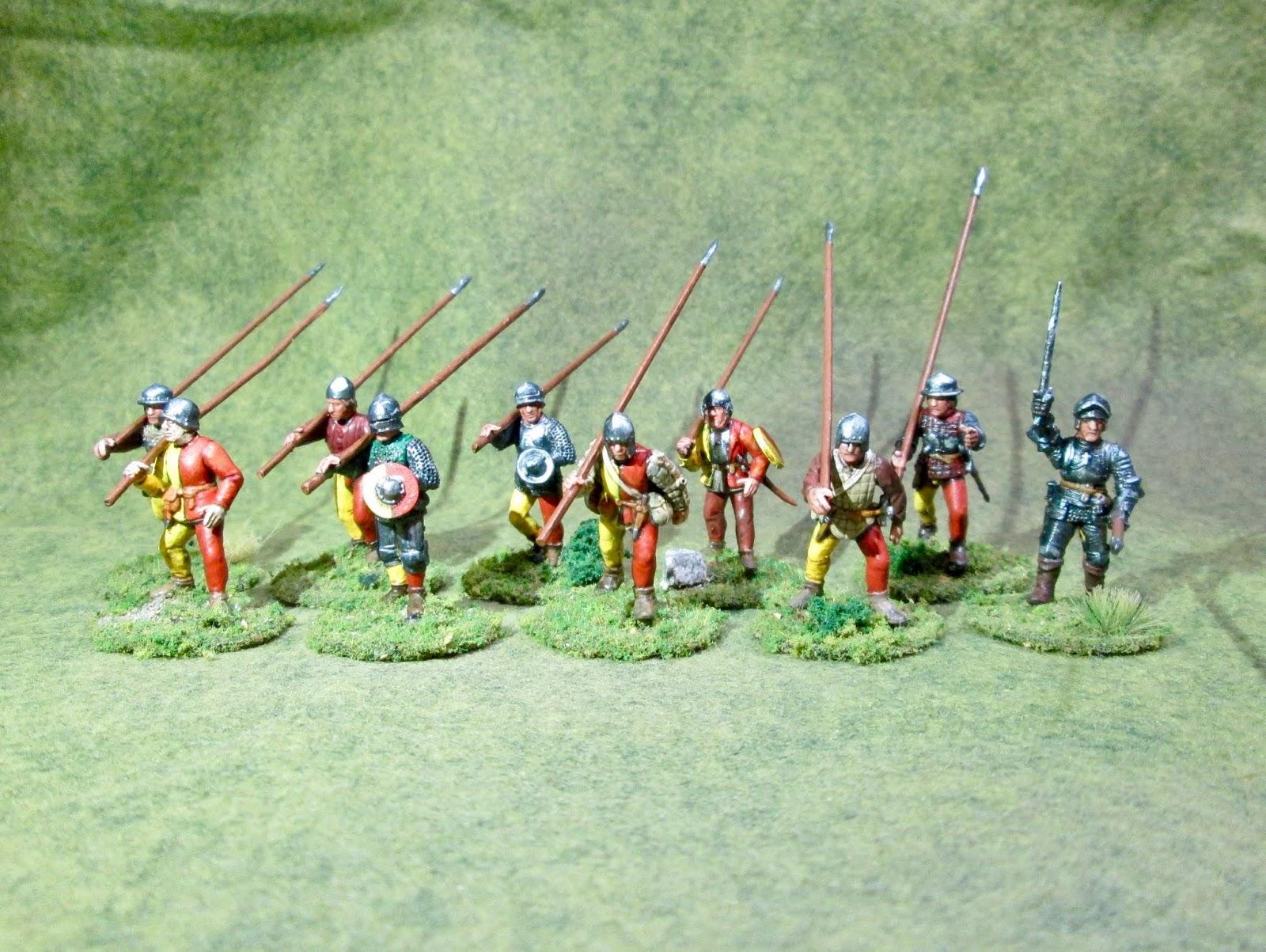 European Infantry 1450-1500 Perry Miniatures Plastic /'Mercenaries/'